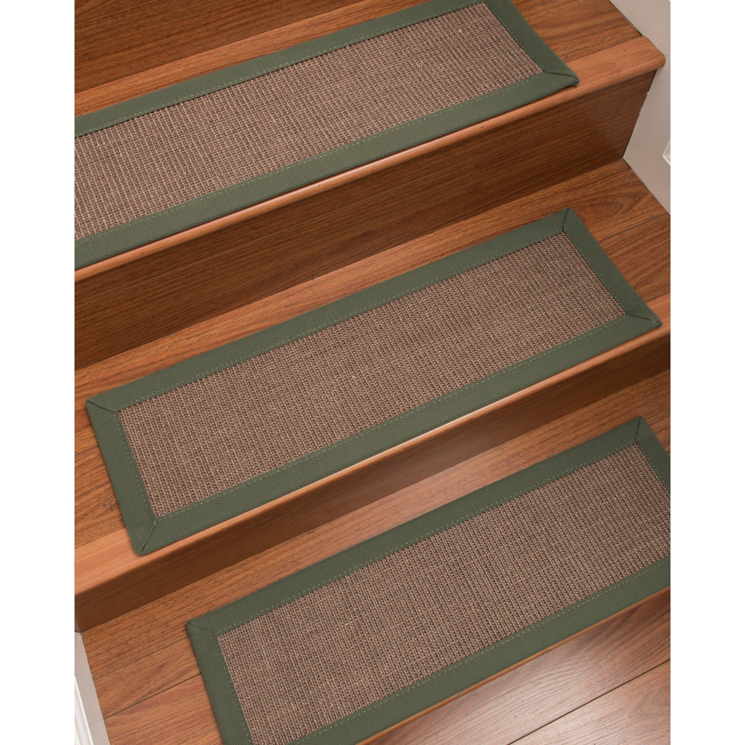 Best Naturalarearugs Linden Carpet Stair Treads Set Of 13 9 400 x 300