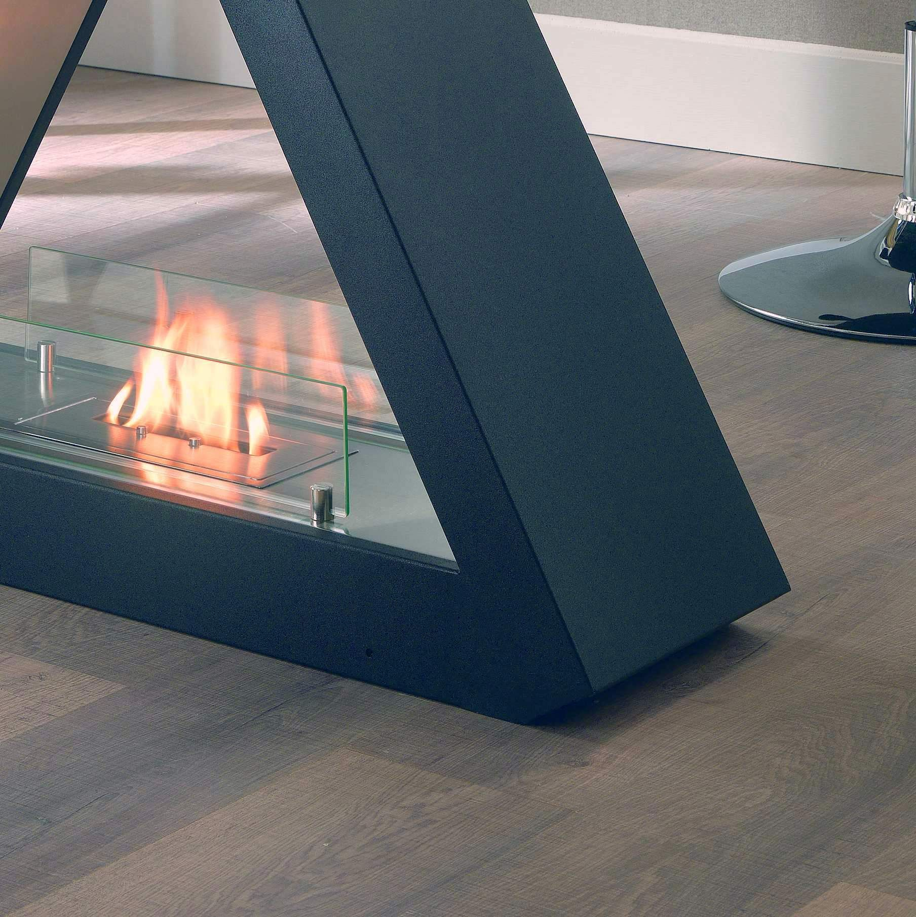 Stylish portable Bioethanol fireplace with a burner 1500 ml by Stones at My Italian Living Ltd