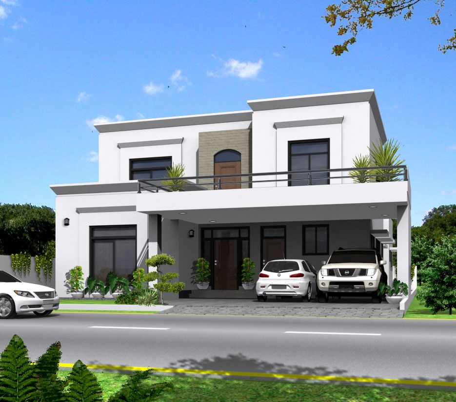 Front Elevation Of Residential Houses : Elevations of residential buildings in indian photo