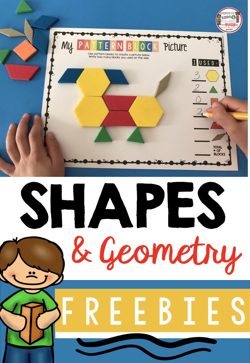 Kindergarten Geometry Unit Freebies Keeping My Kiddo Busy Kindergarten Geometry Shape Activities Kindergarten Shapes Kindergarten [ 1174 x 810 Pixel ]