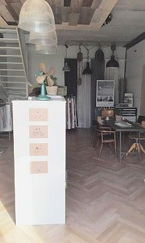 Floors shop vloer in haren interior design by sabine for Buro interior design