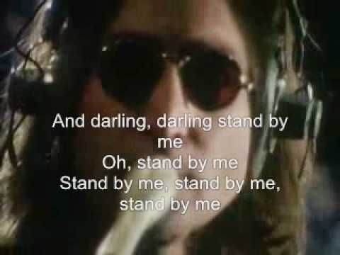 John Lennon Stand By Me With Lyrics Youtube Stand By Me John Lennon Lennon