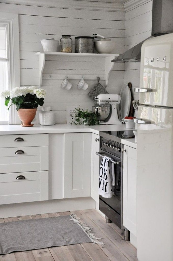 28 Ideas para decorar una cocina al estilo Vintage Pinterest