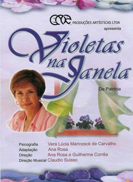 Violetas Na Janela é Um Romance Espírita Alegadamente Narrado Pelo
