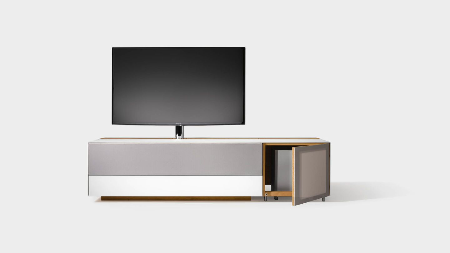 cubus pure Home Entertainment furniture with integrated subwoofer ...