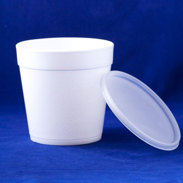 Tazon 24mj48 Glassware Tableware Small Trash Can