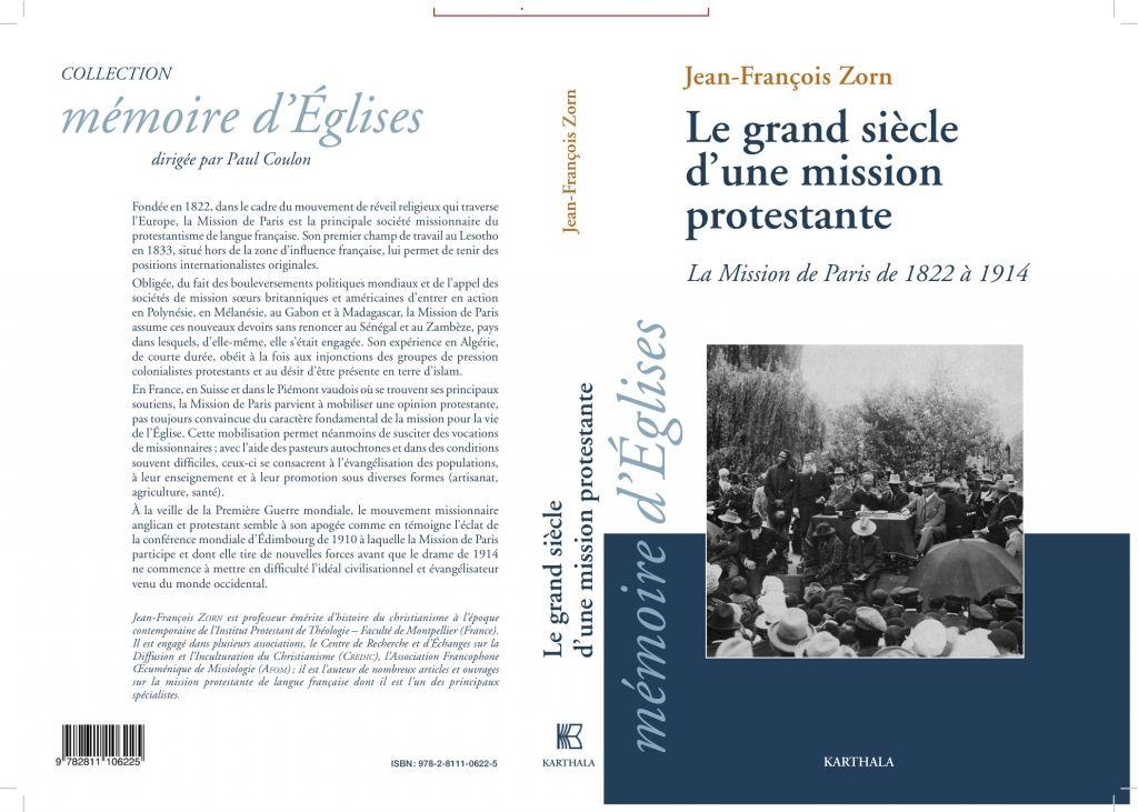 Le Grand Siecle D Une Mission Protestante Livre Paris Histoire Du Christianisme