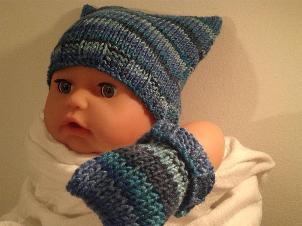 Square Teabag Hat Premature 3 Yrs Knitting Pattern By Knitting Crochet Crazy Quick Knits Knitting Knitting Patterns