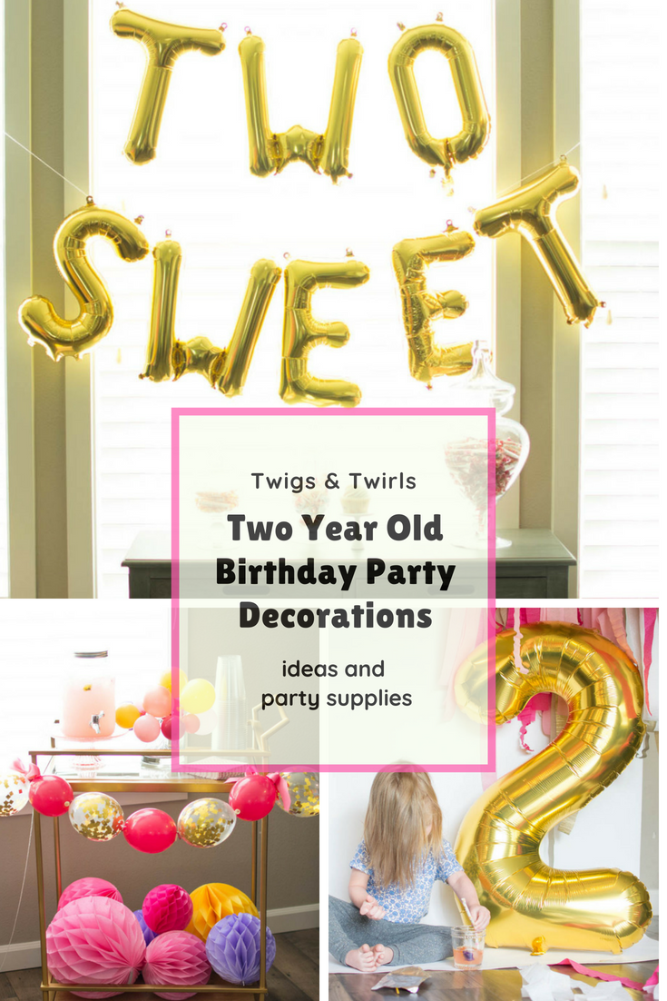 2nd Birthday Party Decorations And Ideas Sydneys TWO SWEET Turningtwo 2ndbirthday Secondbirthday