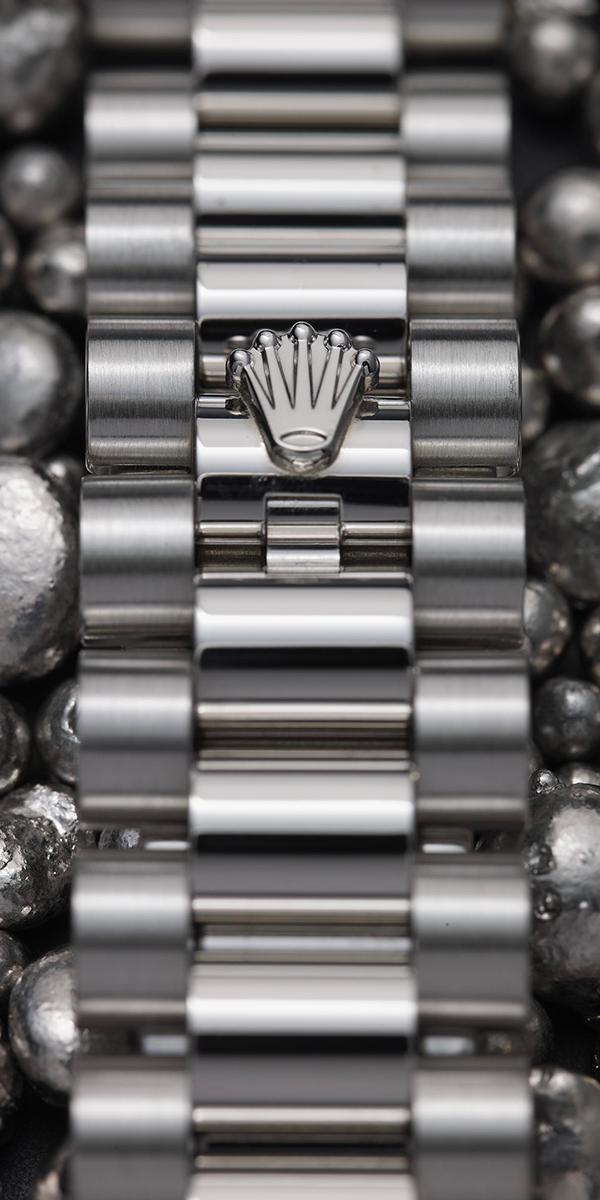 The Rolex President bracelet. A refined, exclusive bracelet