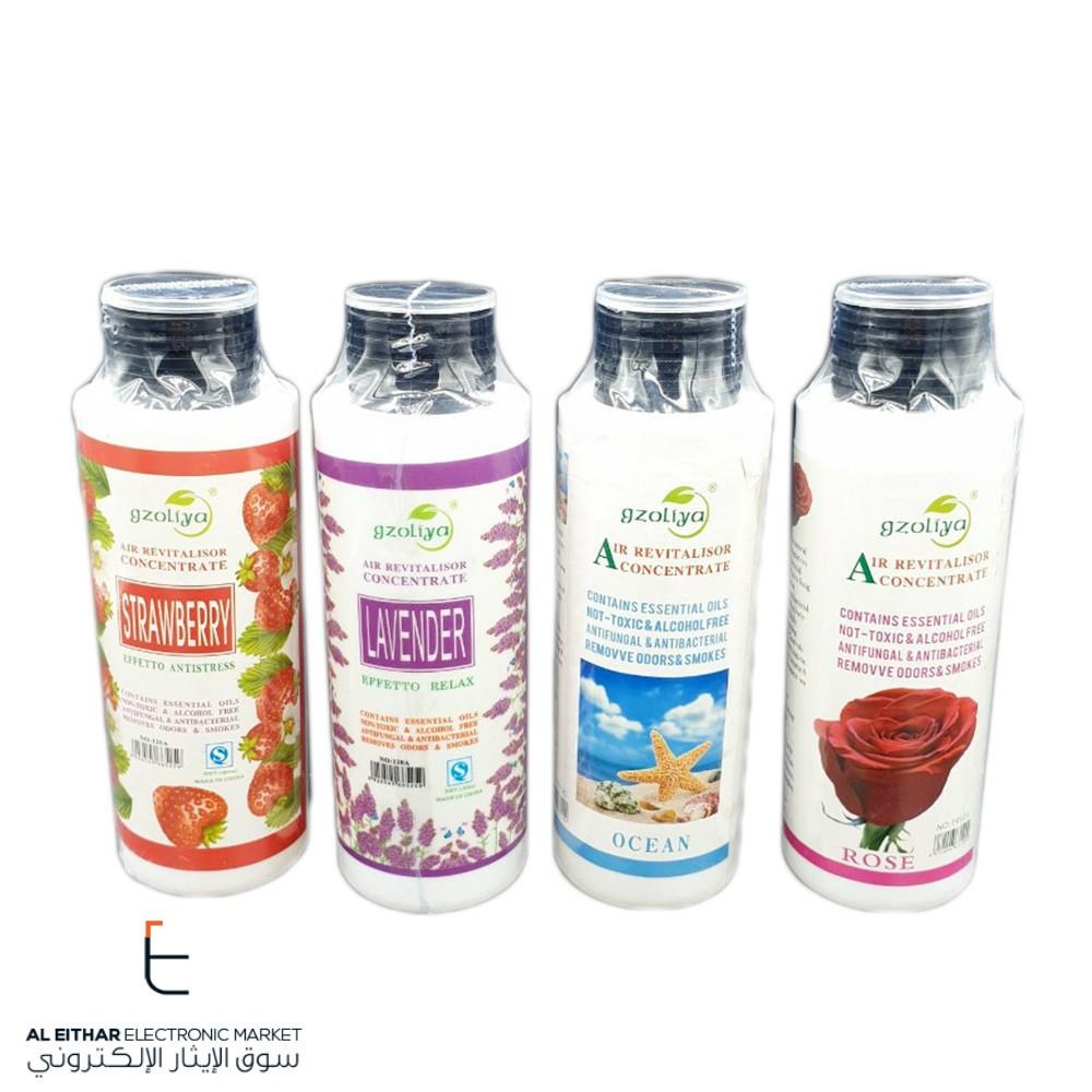 عطر مائي للفواحة Gzoliya Water Perfume For Humidifier 120ml سوق الإيثار الإلكتروني Antifungal Alcohol Strawberry