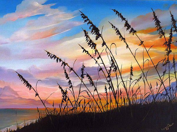 Sunset Fort Desoto Beach By Karin Dawn Kelshall Best