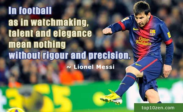10 Inspirational Soccer Quotes That Will Kick You In The Balls Inspirational Soccer Quotes Soccer Quotes Messi Quotes