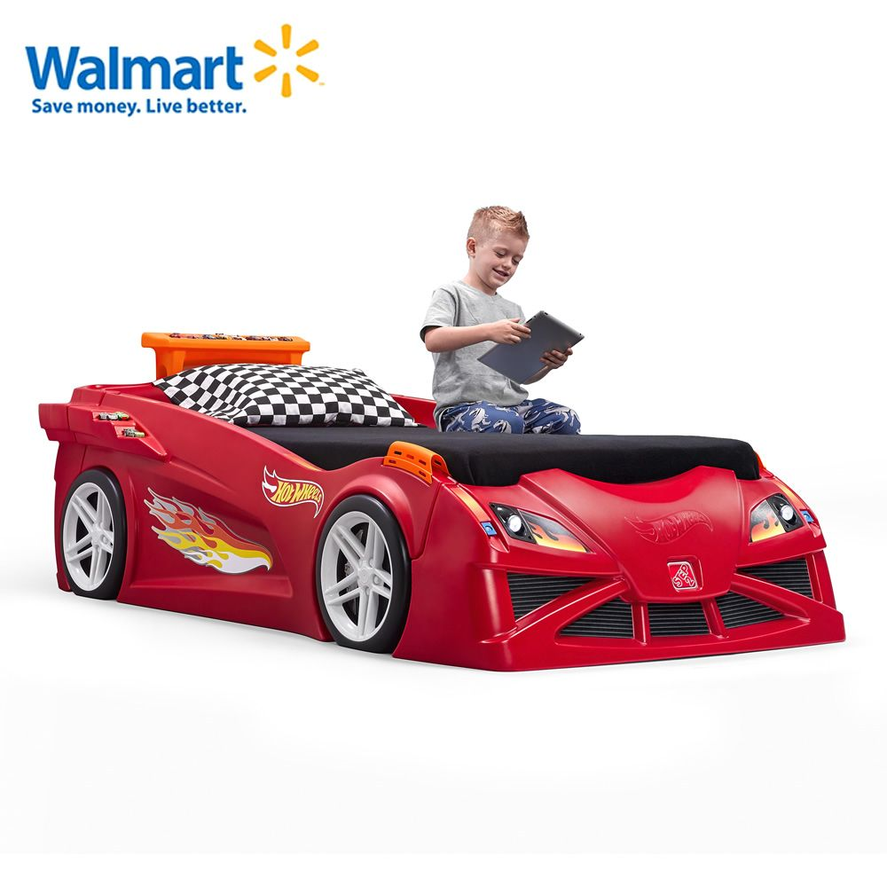 beds product car toddler race bed racecar home
