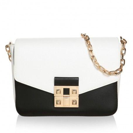 liu jo tasche tracollina grande crossover bag black. Black Bedroom Furniture Sets. Home Design Ideas