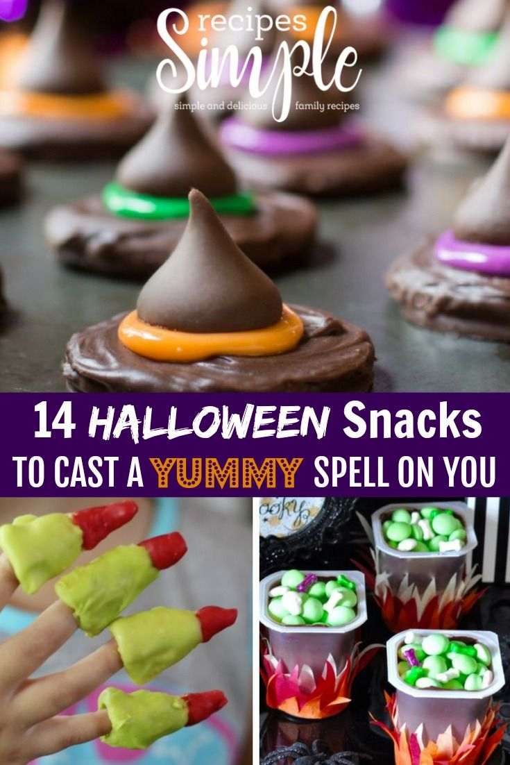14 Halloween Snacks That Will Cast a Spell On You