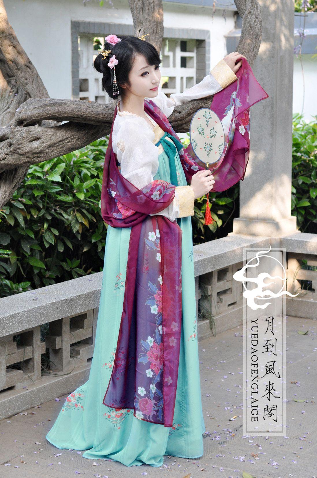 Tang Dynasty Hanfu Ruqun