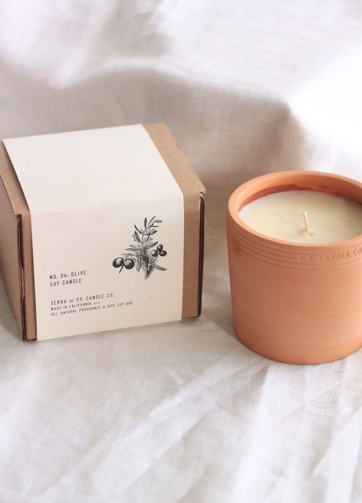 PF Co Olive Terra Candle