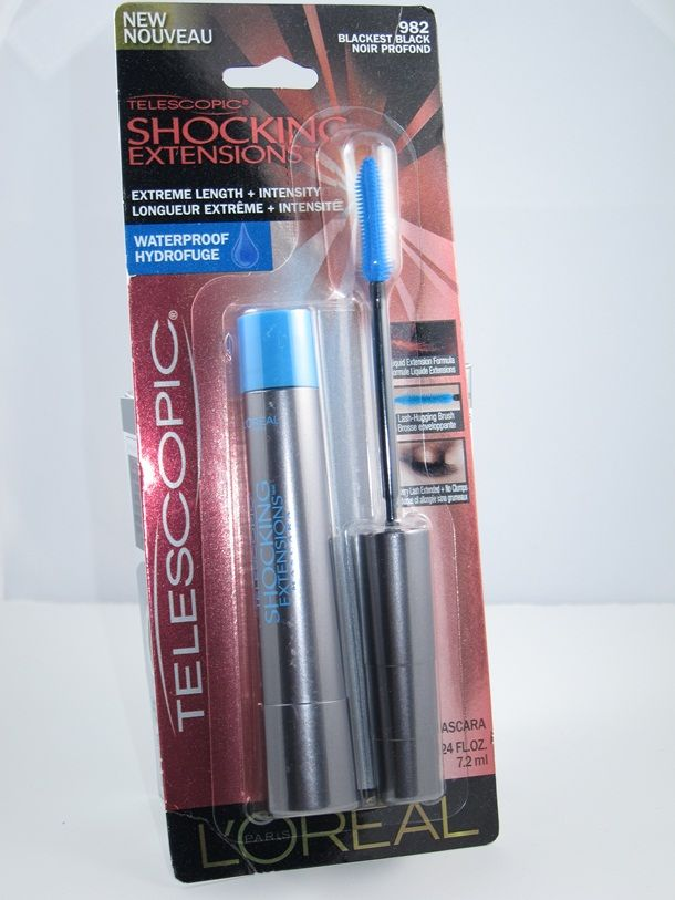 d576023fa55 L'Oreal Telescopic Shocking Extensions Mascara - this product is amazing  and truly delivers length! Need to try~