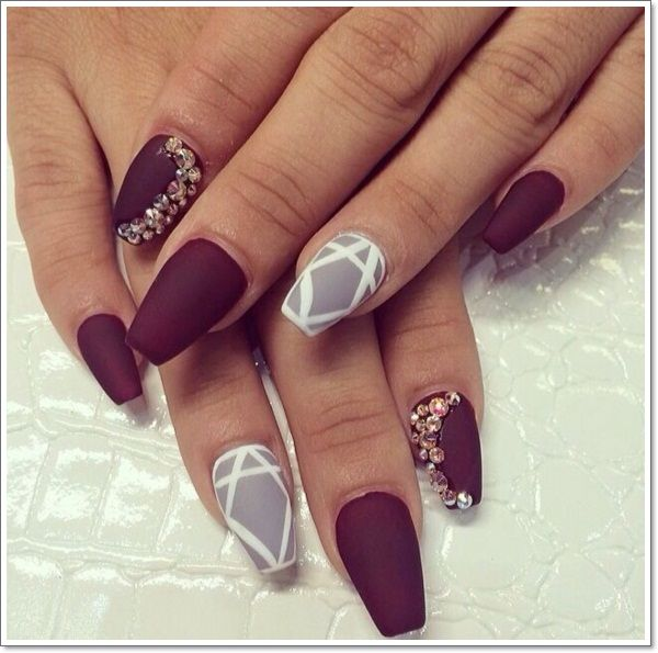 48 Cool Stiletto Nails Designs To Try Tips Natural Nails Beauty
