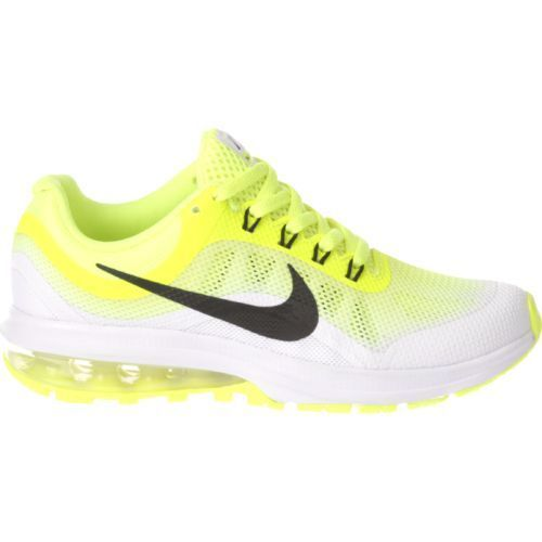 Nike Boys  Air Max Dynasty 2 Running Shoes (Volt Black White b0012ace75