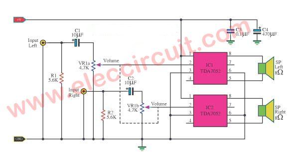 Tda 7309 Digital Audio Processor Circuit