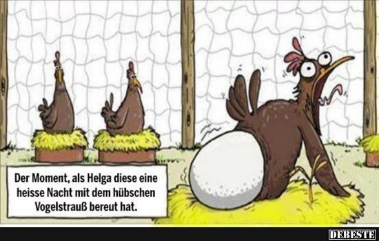 Der Moment, als Helga diese eine heisse.. | Lustige Bilder, Sprüche, Witze, echt lustig #comicsandcartoons