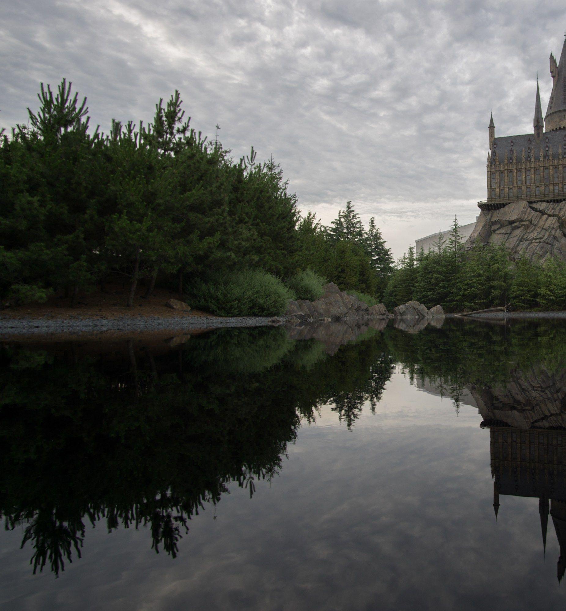 Black Lake Hogwarts Universal Studios Japan Harry Potter Hogwarts Universal Studios Universal Studios Japan Harry Potter Universal
