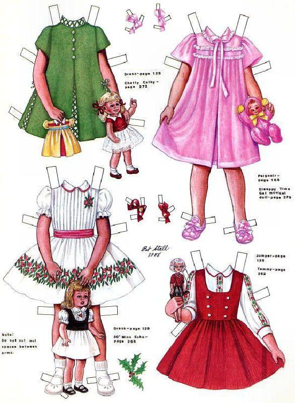 (⑅ ॣ•͈ᴗ•͈ ॣ)♡                                                             ✄Paper Doll Candy SPIEGEL 1963
