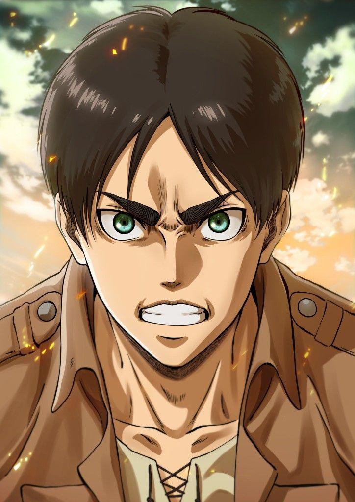 Ilustracion De Eren Jaeger Personajes De Anime Kyojin Shingeki No Kyojin Titans