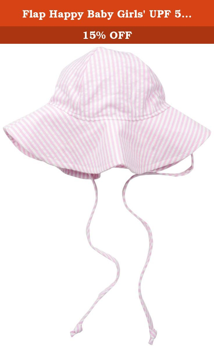 Amazon.com  Flap Happy Baby Girls  UPF 50+ Floppy Hat ed939cbe5310