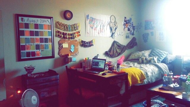 This is my official college dorm! :)) happy freshman year!