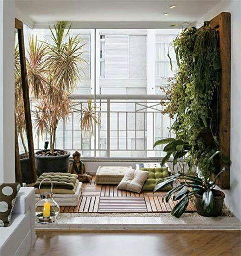 Pictures Of Meditation Rooms otimizando o espaço de varandas pequenas com charme | meditation