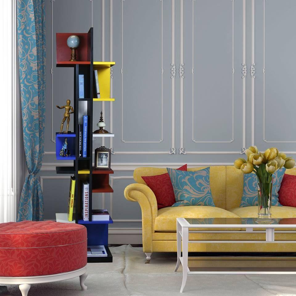 unieke kast, woonkamer vintage look - livingroom vintage look ...