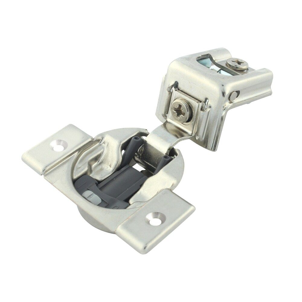 Rok Hardware Blum 110 Degree Compact 39c Series Blumotion 1 1 4 Overlay Screw On Soft Closing Cabinet Hinge 39c355b 20 25 Grey In 2020 Hinges For Cabinets Overlay Cabinet Hinges Things To Sell