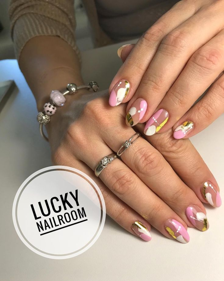 The 100+ oval shaped nails designs 2018 - The 100+ Oval Shaped Nails Designs 2018 Nail Design Pinterest