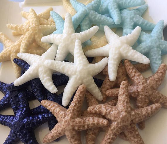 Starfish Soap Favors Bulk Set Of 25 Beach Party Favors Etsy Beach Wedding Favors Beach Party Favors Soap Favors