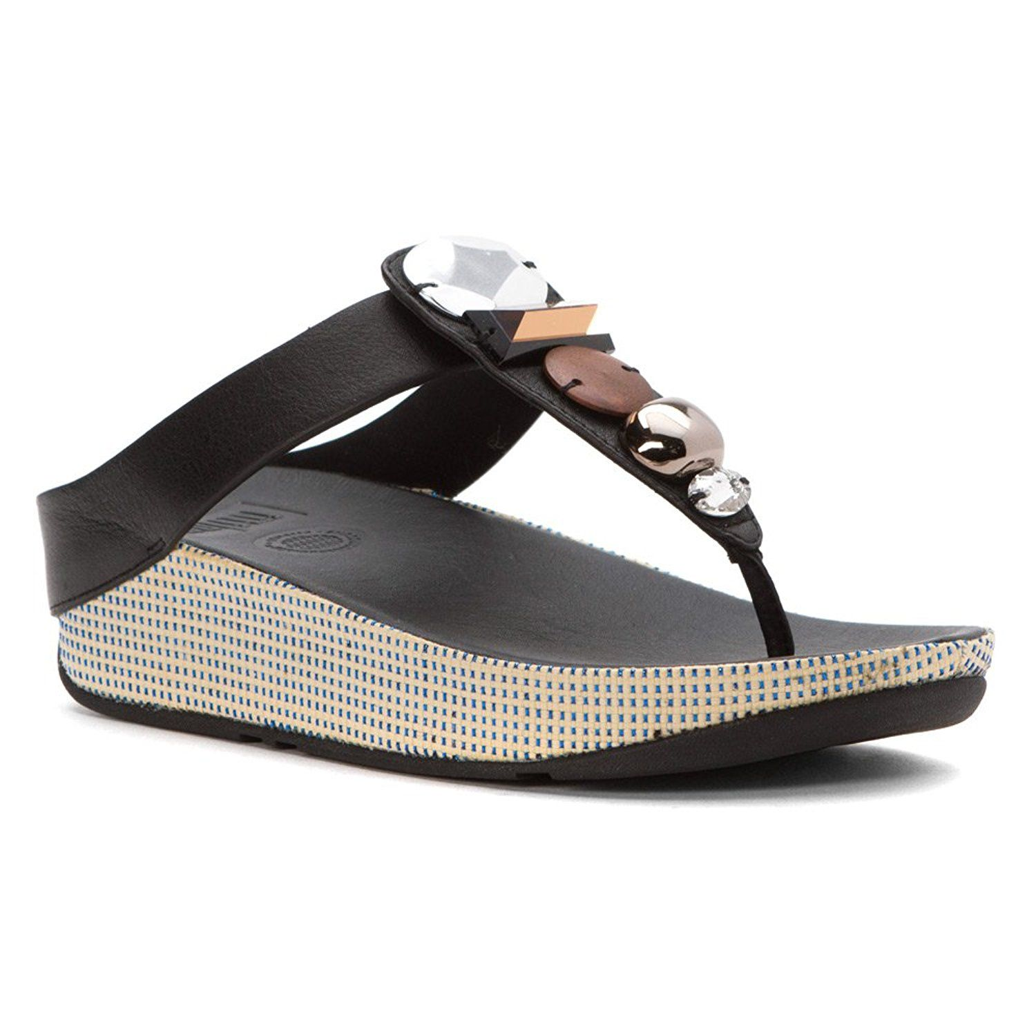 7222d3a1cfac FitFlop Women s Jeweley Toe-Post Flip Flop   Quickly view this special  product