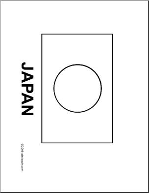 flag japan line drawing of japanese flag to color esl japan word puzzles flag. Black Bedroom Furniture Sets. Home Design Ideas