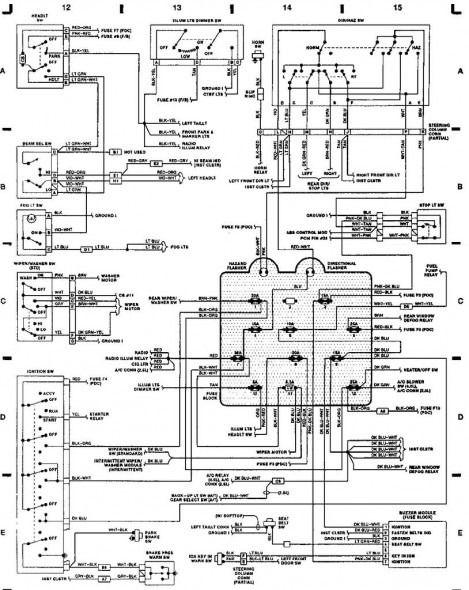92 jeep wrangler wiring diagram