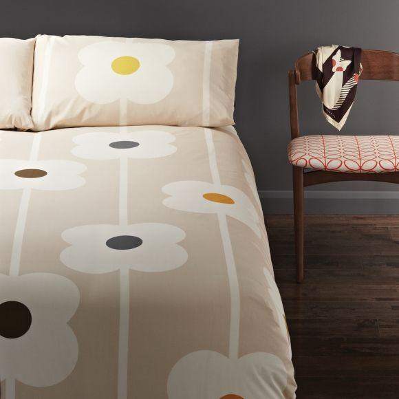 Orla Kiely Duvet Cover Set Giant Abacus Sand Hardtofind King Size Duvet Covers Duvet Cover Sets Duvet Sets