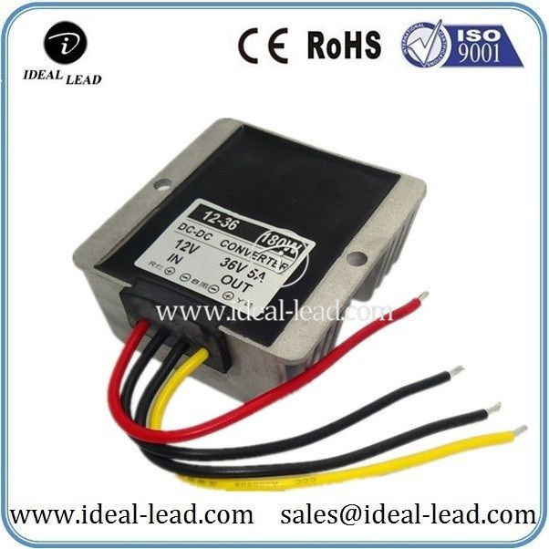 Waterproof 180w 5a 12v Dc To 36v Dc Transformer Dc Dc Converter Converter Electronics Technology