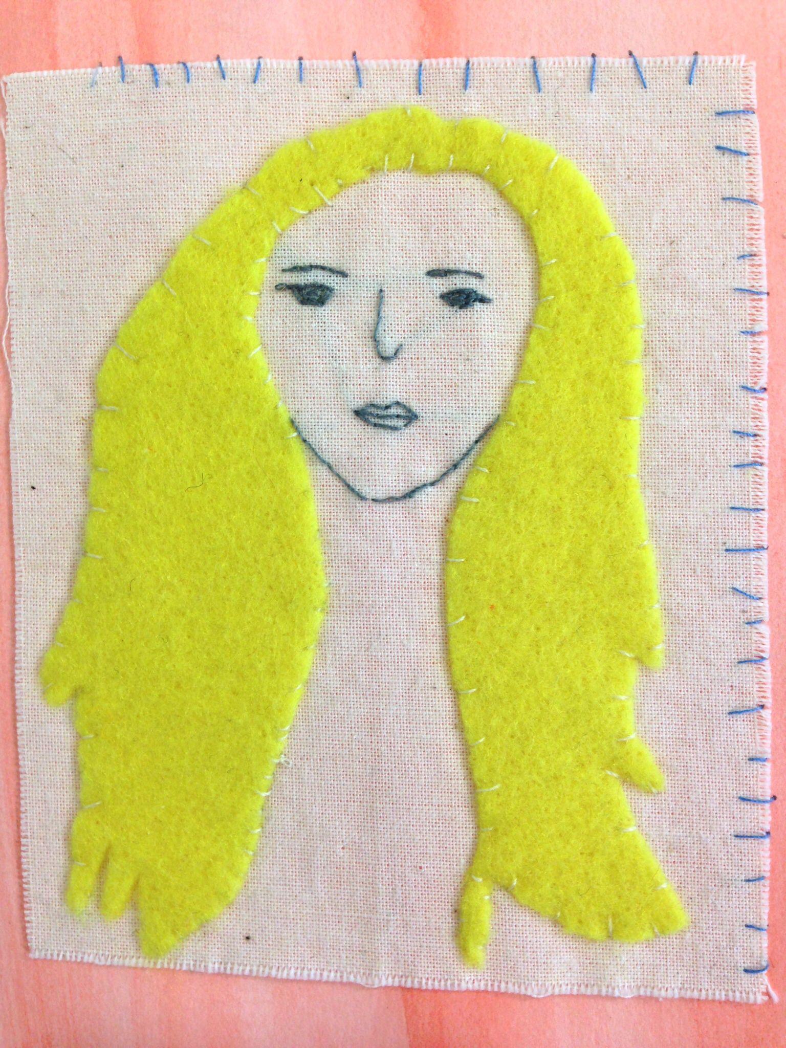GCSE Textiles 2014 - Edie by Rosie!!
