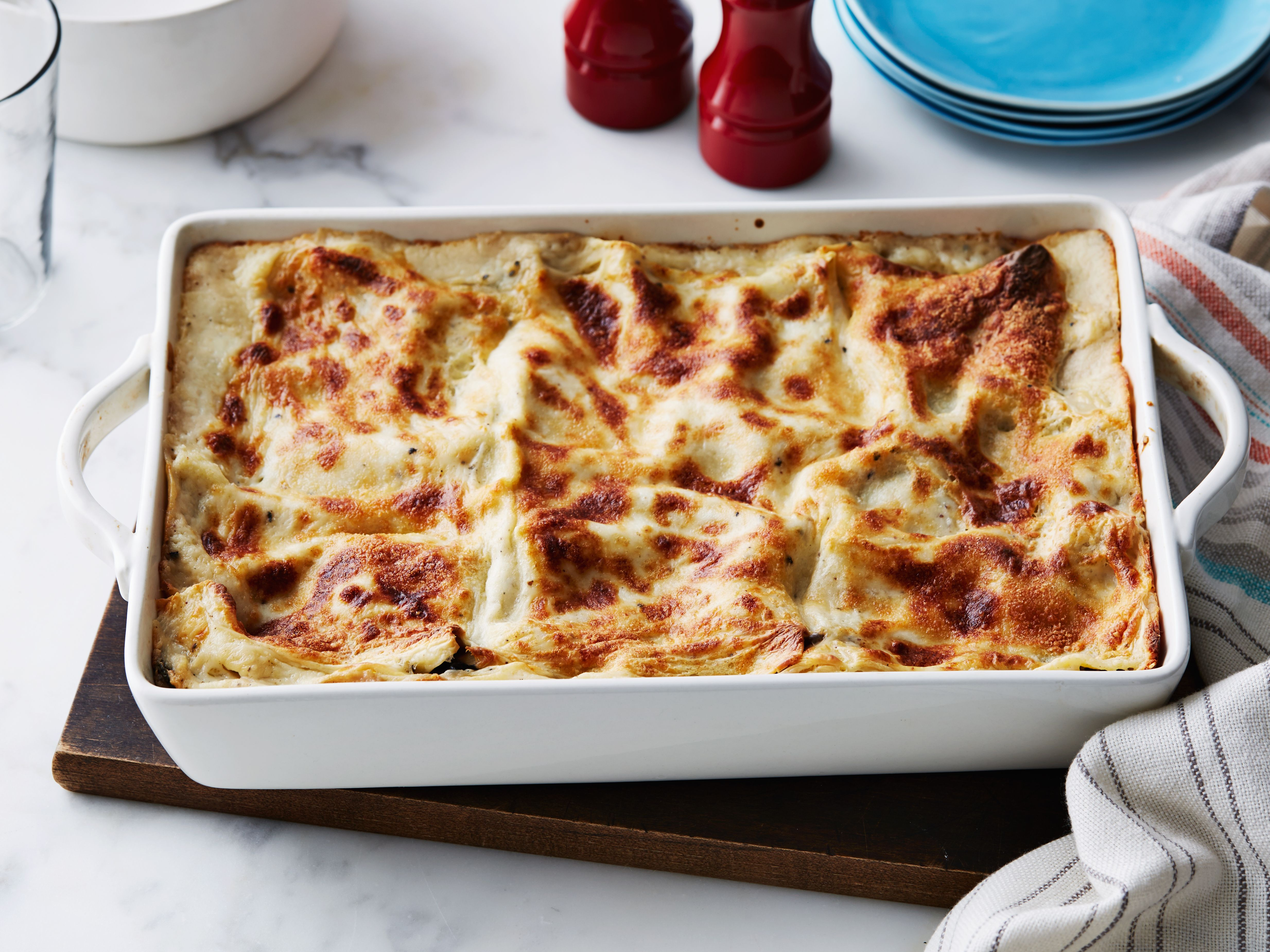 Portobello mushroom lasagna recipe pinterest mushroom lasagna portobello mushroom lasagna recipe from ina garten via food network use green pepper and red sauce forumfinder Image collections