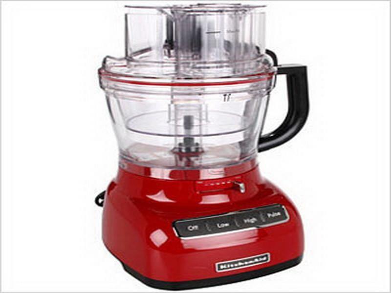 kitchenaid empire red food processor