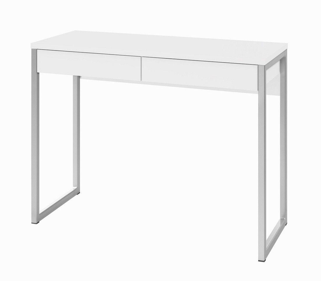 Function Plus Desk työpöytä, korkeakiilto valkoinen