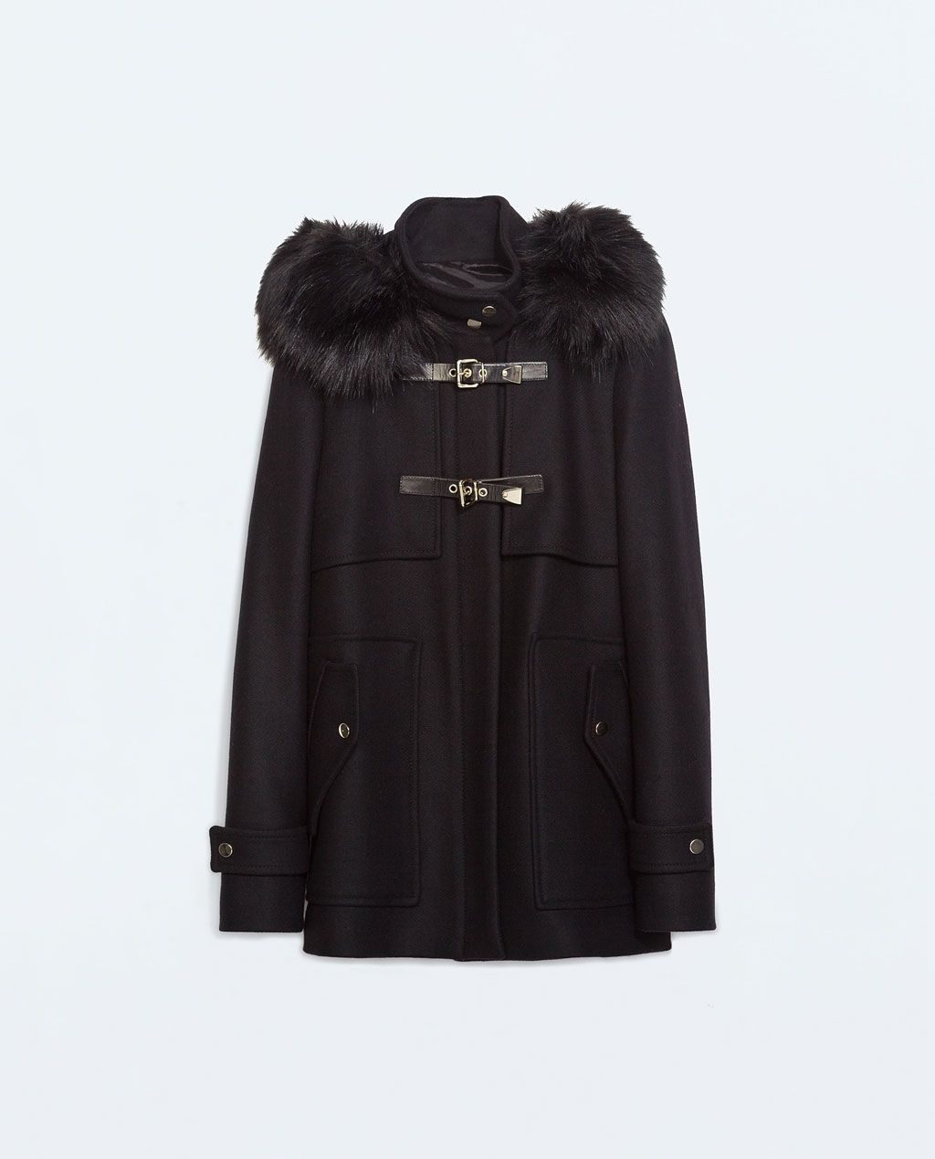 Love this coat minus the gold hardware.