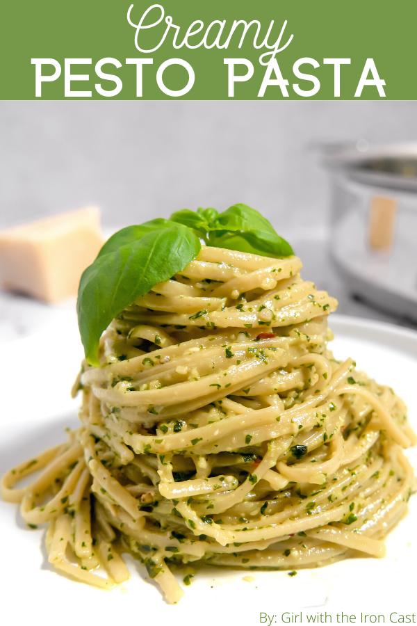 Photo of Creamy Pesto Pasta