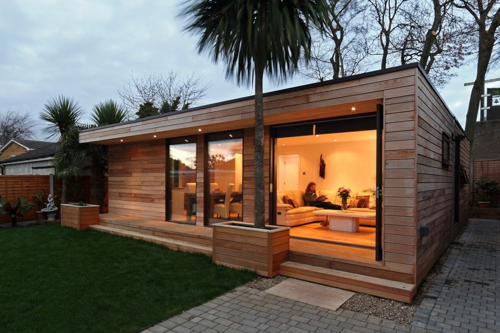 Modern And Eco Friendly Garden Office An Ideal Solution To Working From Home