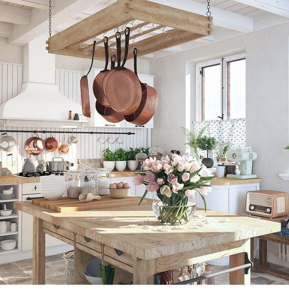 Pin By Eliza Leon On C U I S I N E In 2020 French Kitchen Decor Kitchen Decor Rustic Dining Table